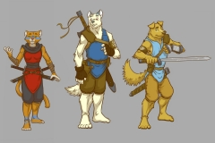 Character Designs Fantasy Comic