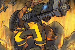 Rocket Raccoon Love Guns