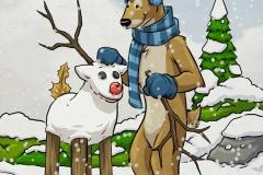 Santa's Reindeer Page 8