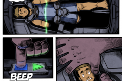 Space Comic Page 4